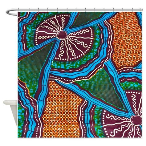 african print curtains african print shower curtain by simpleshopping