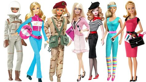 doll design jobs a brief history of barbie s work wardrobe from pilot to