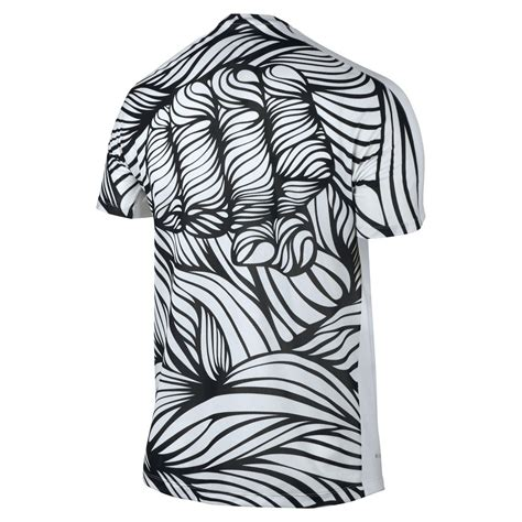 T Shirt Nike Hypervenom nike t shirt neymar jr graphic white black www unisportstore