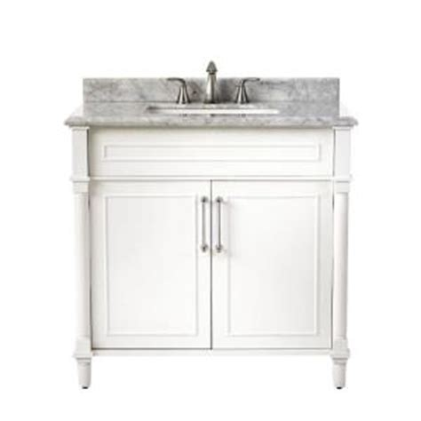 home decorator vanity home decorators collection aberdeen 36 in w x 22 in d