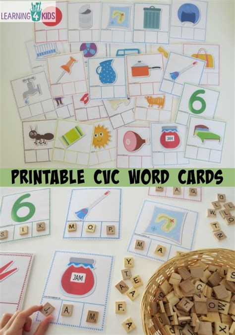 printable missing word games printable cvc words bundle activity pack activities