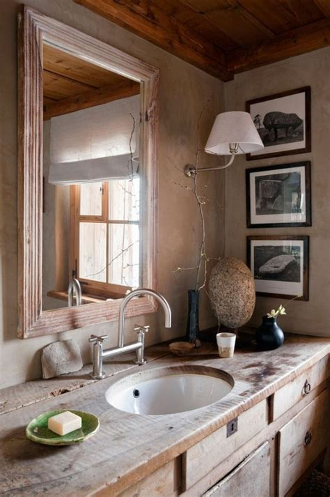 rustic cabin bathroom ideas 39 cool rustic bathroom designs digsdigs