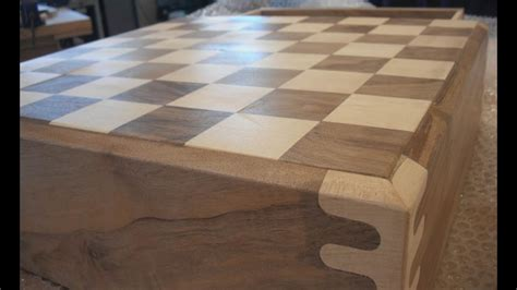 making  wooden chess set youtube