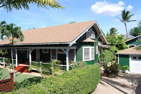 Two Story Craftsman Style House Plans 1926 bungalow in kihei hawaii oldhouses com