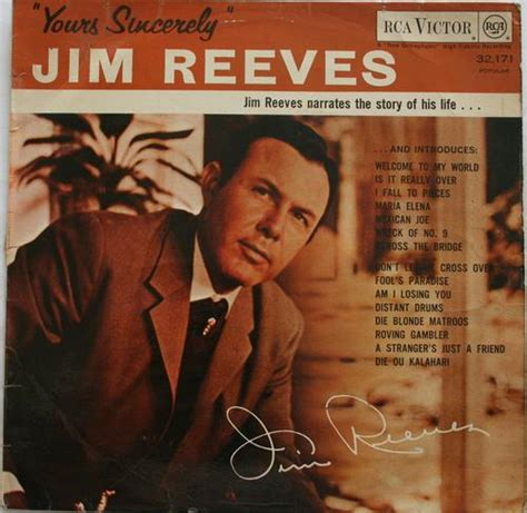 other lps other formats jim reeves yours