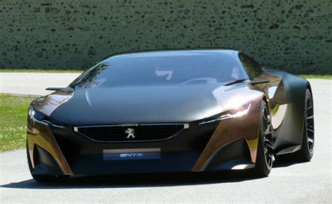 peugeot sports car peugeot edl 132 exotic french concept e bike