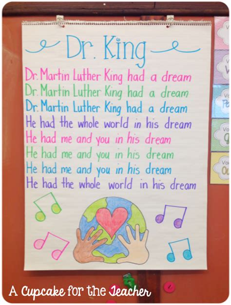 martin luther king jr song for kids with rosa parks youtube patties classroom martin luther king day activities