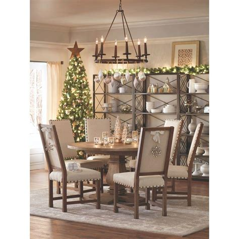 home depot home decorators home decorators collection andrew antique walnut dining
