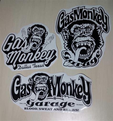 Gas Monkey Aufkleber by Stickers Calcomanias De Gas Monkey Garage Bs 2 200 000