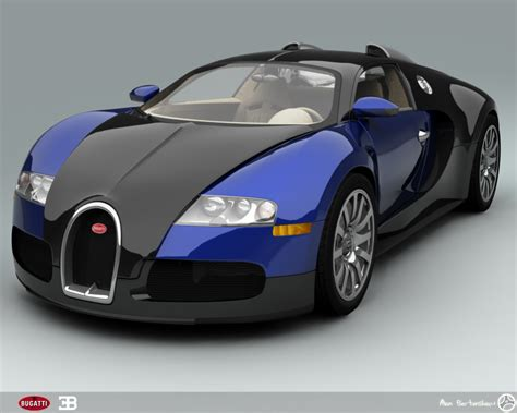 Bugatti Auto by Bugatti Veyron Blue Cool Car Wallpapers