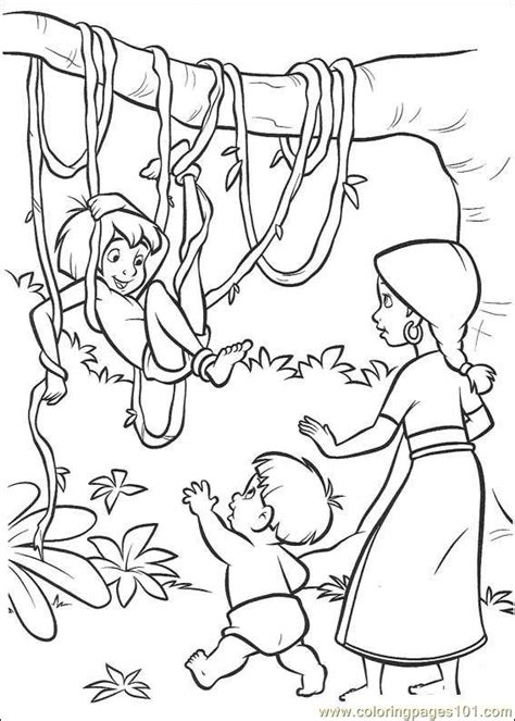 coloring pages jungle book 2 17 cartoons gt jungle book