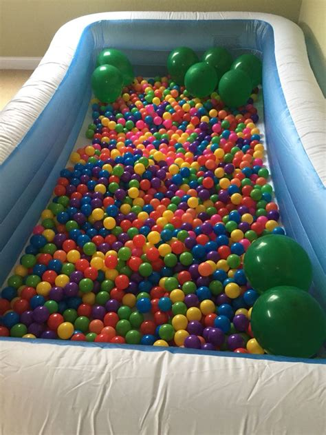 swimming pool and balls pit worth every