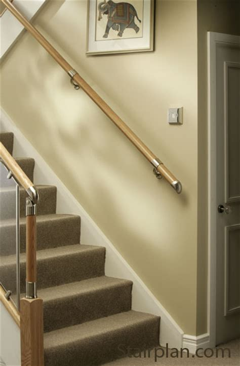 fitting a banister handrail fusion wall handrail kit stair banister rail kit