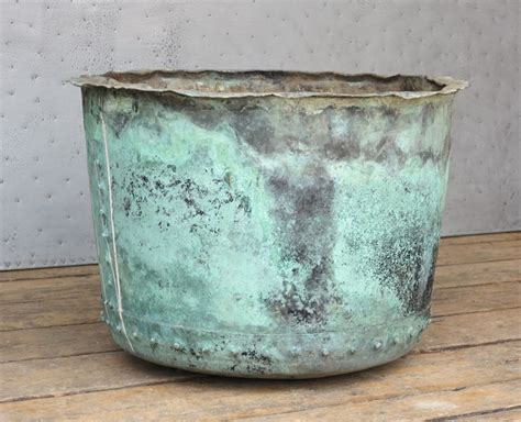 Indoor Planters For Sale by Original Large Antique Copper Planter Or Pot