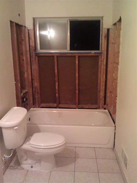 installing a bathroom window window in shower what would you do