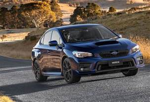 2018 subaru wrx wrx sti on sale in australia sti spec r