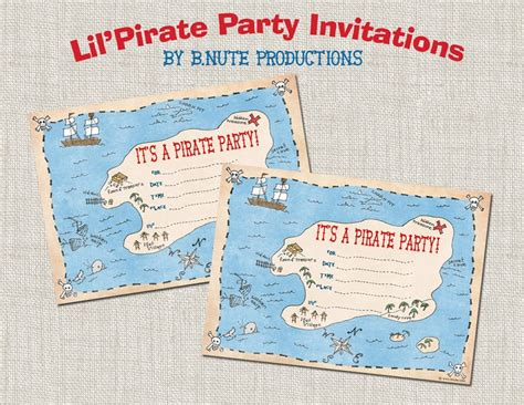 printable party invitations nz bnute productions free printable pirate party invitations