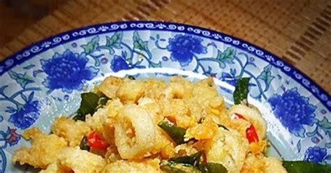 sotong goreng telur masin fizas cooking