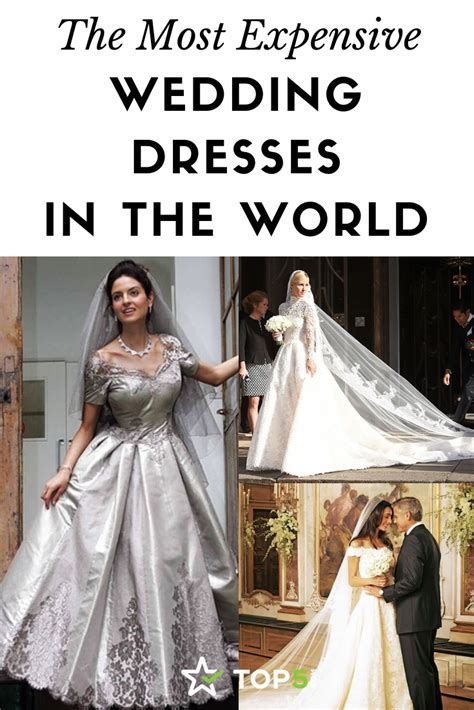 The Most Expensive Wedding Dresses in the World   Top5