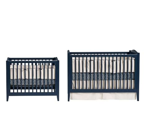 Mini Crib Vs Standard Crib Size Emerson Mini Crib Mattress Set Pottery Barn
