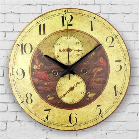 decorative wall clock large decorative wall clock absolutely silent living room