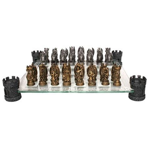 dragon chess set vires kitchen kingdom of the dragon chess set