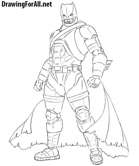 armored batman coloring pages how to draw armored batman drawingforall net
