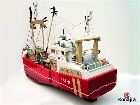 lego fishing boat sinking the world s best photos of lego and trawler flickr hive mind