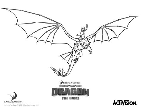 free coloring pages of to your dragon