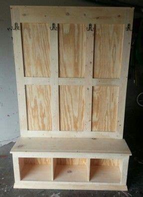 entryway storage hall tree foter farmhouse table