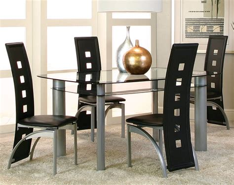 American Freight Dining Room Furniture by Valencia 5 Dinette Set Modern Dining Room