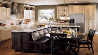 Kitchen Center Islands With Seating kitchen island with booth seating kitchen island with booth seating