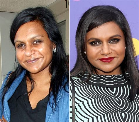 does mindy kaling wear wigs mindy kaling natural beauty stars without makeup us