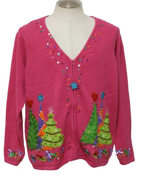 ugly christmas cardigan sweater carly st claire