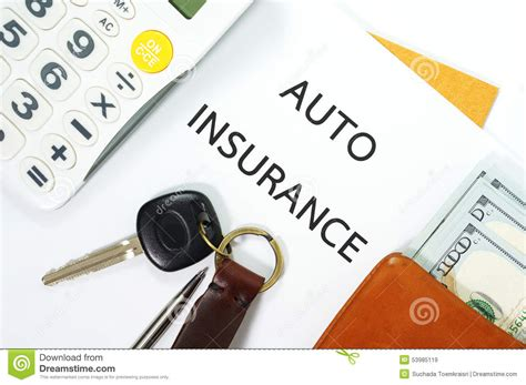 auto insurance  car key  money royalty  stock