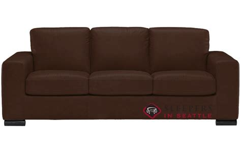 Sleeper Solutions by Ship Rubicon B534 Leather Sofa By Natuzzi