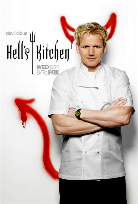 Helss Kitchen by Hell S Kitchen Tv Poster 2 Of 6 Imp Awards