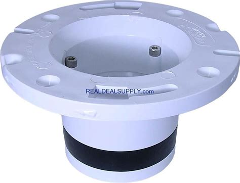 Real Deal Supply Toilet Install Plastic Floor Flange Gt 587268