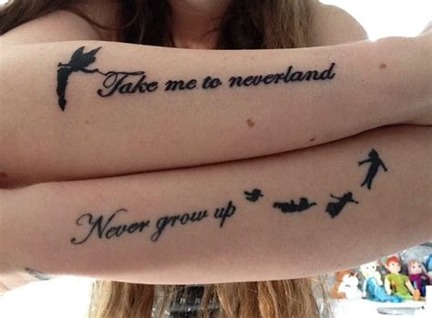 tattoo quotes cairns 27 minimalist peter pan tattoos to remind you to never