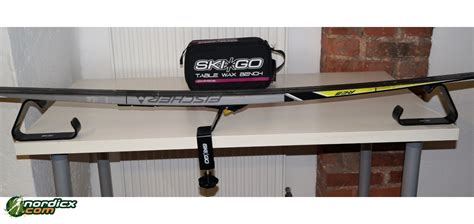 nordic ski wax bench skigo table wax bench for xc skis