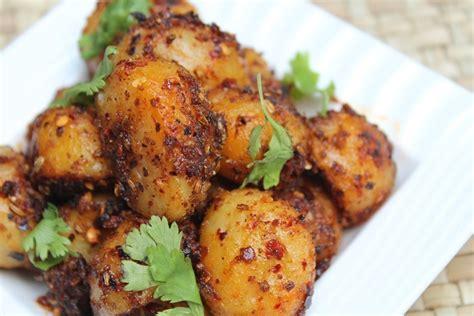 garlic potato roast recipe garlic potatoes recipe