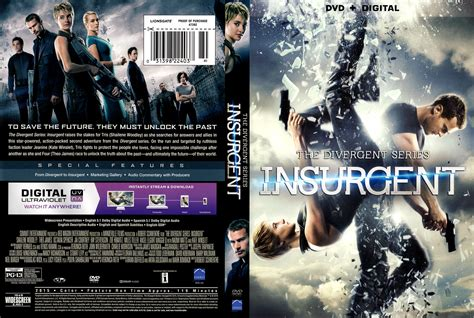 Insurgent Dvd Cover Label 2015 R1
