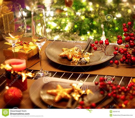 christmas eve dinner table setting 2017 2018 best cars christmas table setting stock photo image of interior