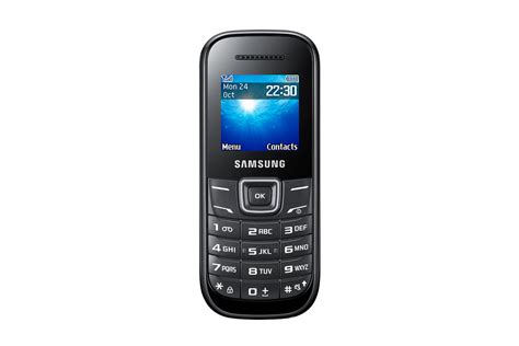 Samsung E 1200 Samsung E1200 Mobile Phone 1 52 Tft Screen Features Reviews