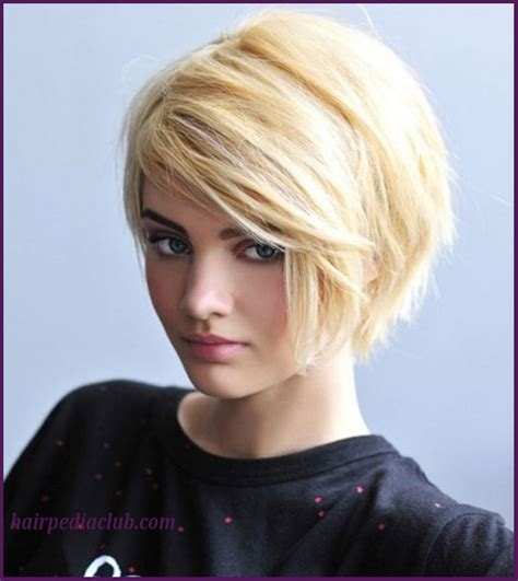 good haircuts for thick hair round face 5 short haircuts for thick hair and round faces