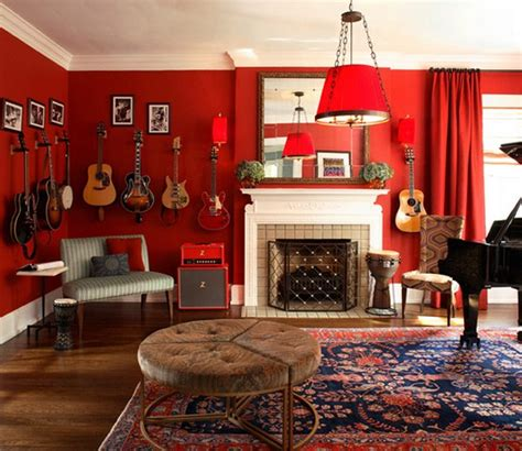 red walls living room creative red living room designs