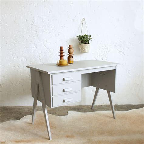 bureau chene bois compas vintage e618 d atelier du petit