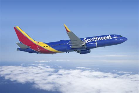 Southwest Airlines 737 MAX Details and Routes   Airport Spotting Blog