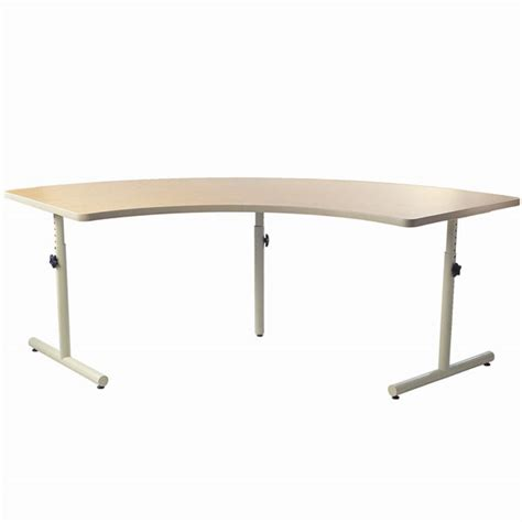 quarter table maxiaids quarter therashape accessible table with knob adjustment ds