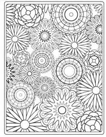 Floral Pattern Coloring Pages http media cache ak0 pinimg originals d2 4e 13